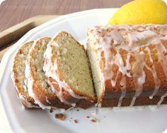Almond Poppy Seed Quick Bread (more like a cake though, and lots of ...
