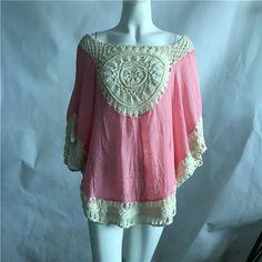 Women Blouse V Neck Short/Long Sleeve Top Shirts Blouses Designs Fat Ladies