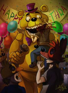 Fnaf bite of 87 Five Nights At Freddy's, Good Horror Games, Horror Video Games, Freddy S, Creepypasta, Kawaii, Bite Of 87, Fnaf 4, Fnaf Sister Location
