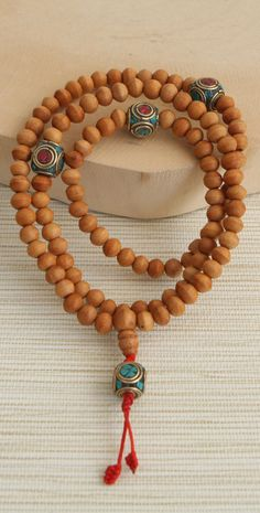 Hand-crafted Wood Mala, made in Nepal ♣️Fosterginger.Pinterest.Com♠️ More Pins Like This One At FOSTERGINGER @ PINTEREST No Pin LimitsFollow Me on Instagram @  FOSTERGINGER75 and ART_TEXAS