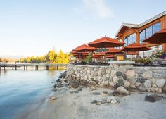 The most gorgeous wedding venue in Idaho - The Shore Lodge