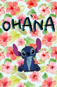 Image via We Heart It https://weheartit.com/entry/156106942 #adorable #background #cute #disney #stitch #wallpaper #lockscreen