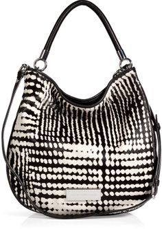 57c07232bfdc Marc by Marc Jacobs Haircalf Leather Hobo Bag