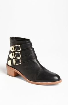 Free shipping and returns on Loeffler Randall 'Fenton' Boot (Online Only) at Nordstrom.com. Golden buckles triple the impact of an abbreviated round-toe boot.