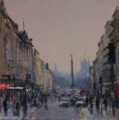 Andrew Gifford - Haymarket looking South - 2012