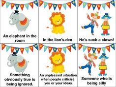 Free! Circus Idioms!