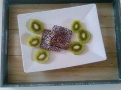 Czary w kuchni- prosto, smacznie, spektakularnie.: Placuszki babanowe z kakao z mąki ryżowej Waffles, Tasty, Lunch, Breakfast, Healthy, Sweet, Food, Meal, Lunches