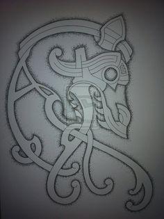 Celtic Dragon Tattoo Design Finished by NirvanaOfTime.deviantart.com on @deviantART