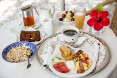 the Orloff breakfast features traditional Greek recipes