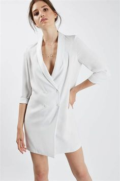 We've gathered our favorite ideas for Soft Tailored Blazer Dress Dresses Clothing Topshop, Explore our list of popular images of Soft Tailored Blazer Dress Dresses Clothing Topshop. Sleeveless Blazer, Lace Blazer, Blazer Dress, Jacket Dress, Shirt Dress, White Shift Dresses, Blue Dresses, Dresses With Sleeves, Tuxedo Dress