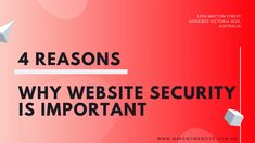 4 Reasons why website security is important Web Design Quotes, Website Security, Business, Store, Business Illustration