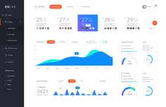 Dribbble - events_dashboard.png by Nick Buturishvili