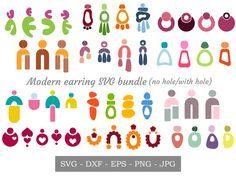 Diy Earrings Polymer Clay, Polymer Clay Crafts, Polymer Clay Earrings, Biscuit, Clay Tutorials, Leather Earrings, Cricut, Crafty, Jewellery