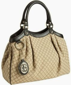 Stunning creamy leather handbag