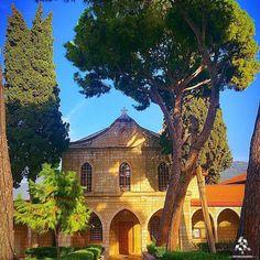 A beautiful shot of Mkhaless Monastery in Joun! By @hasnafrangieh #WeAreLebanon #Lebanon #WeAreLebanon