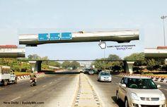 Criativa intervenção do Yahoo! em propaganda de seu serviço de email #advertising #street #publicity