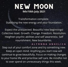 New Energy, Good Energy, Divine Timing, Spiritual Encouragement, Healing Words, Cancer Sign, Self Awareness, New Moon, Health And Wellbeing