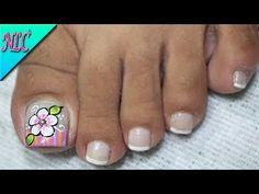 Pedicure Nail Art, Creative Nails, Toe Nails, Yuri, Google, Youtube, Finger Nails, Enamels, Pretty Toe Nails