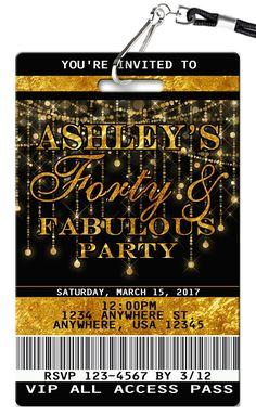 Milestone birthday invitation 20th to 90th birthday invitation faux 40th 40th birthday themes 25th birthday parties 40th birthday invitations birthday for him filmwisefo