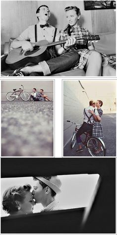 i am so in love with this couple's photoshoot