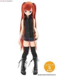 [Close] PNM Halter-neck Shirt (Black) (Fashion Doll) Item picture1