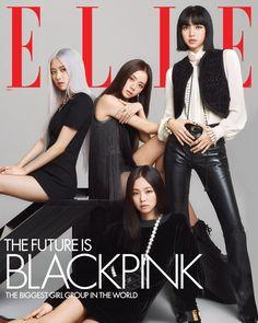 Kpop Girl Groups, Korean Girl Groups, Kpop Girls, Cover Shoot, Jenny Kim, Blackpink Debut, Blackpink Members, Black Pink Kpop, Blackpink Photos