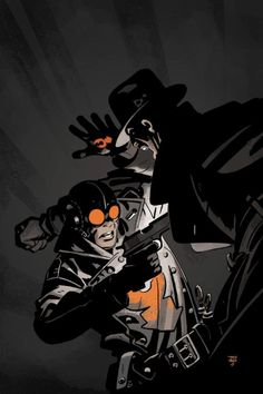 project-ragna-rok:Lobster Johnson covers.
