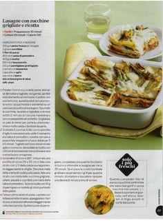 lasagne di zucchine grigliate