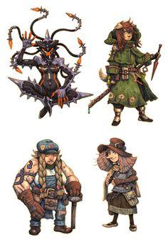 JRPG Characters 9 by eoghankerrigan on DeviantArt