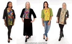 Personlize Your Wardrobe with Fashion Sewing Techniques with Lorraine Torrence and Nancy Zieman | Sewing With Nancy | Town and Country Tunic