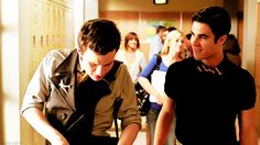 "and blaine is like ""i cannot believe you're not looking at me, i took off my blazer for you"