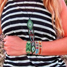 Zoe Kompitsi bracelets and more... | Living Postcards - The new face of Greece