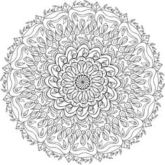 Krita Mandala 7 by WelshPixie on DeviantArt