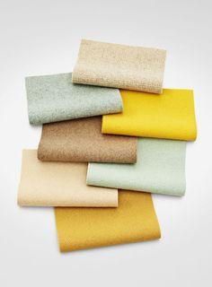 Heavenly. Tonus 4 is an elastic upholstery fabric by late textile artist Nina Koppel