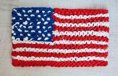 Patrón gratuito: Bandera 4 de julio | The Blog