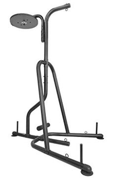Titan Dual Station Boxing Stand For Speed & Heavy Bag MMA Kick Punching Training