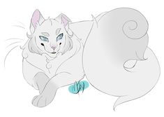 100 Warrior Cats Challenge 44 - Cloudtail This sassy fat furball