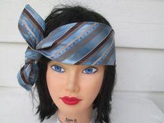 Knot headband Tie Headband Bow Bandana Adult Tie by Ritaknitsall, $14.00