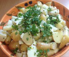 Rezept Warmer Spargelsalat mit Kartoffeln und Kerbel von Barbara Wachtler - Rezept der Kategorie Vorspeisen/Salate