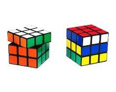 Salt Shaker and Pepper Grinder Rubik\'s Cubes