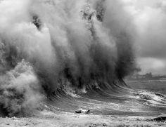 """Rogue waves (also known as freak waves, monster waves, killer waves, extreme waves, and abnormal waves) are large and dangerous surface waves that occur far out to sea. These are not tsunamis, but instead seem to form from a variety of possible causes.  There are three types of rogue waves, the """"Wall of Water"""", the """"Three Sisters"""" and single, giant storm waves that can collapse within moments of their formation."""