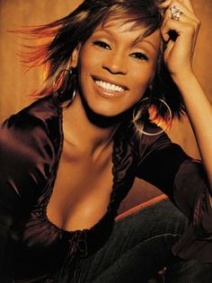 Whitney Houston...one of my top inspirations. RIP. WH  I will always love you!
