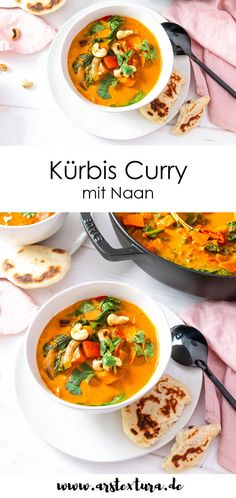 Quick And Schrieb Vegan Recipes Suggestions - Breakfast, Mittagessen And Dinners For The Sozusagen Paced Vegan - My Website Easy Chinese Recipes, Vegan Recipes Easy, Veggie Recipes, Fall Recipes, Cooking Recipes, Naan, Korean Food, Food Presentation, Japanese Food