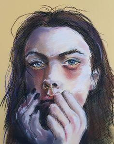 Sad in pastel - 2020 Sad, My Arts, Pastel, Painting, Cake, Painting Art, Paintings, Painted Canvas, Crayon Art