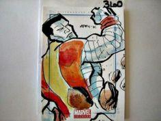 2011 Marvel Universe • Colossus • Sketch Card