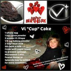 """Vi """"Cup"""" Cake"""