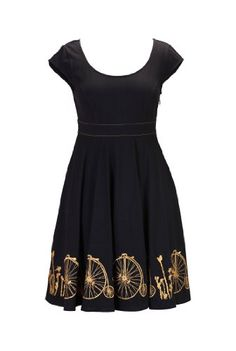 Fashion Bug Womens #Vintage bicycle embellished cotton kni Plus Size dress www.fashionbug.us