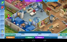 Virtual Families 2, Cloths, House Ideas, Geek, House Design, Mansions, House Styles, Random, Home