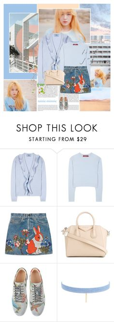 """""""It's a good day to have a good day"""" by rainie-minnie ❤ liked on Polyvore featuring Oris, Prada, Sies Marjan, Gucci, Givenchy and Jules Smith"""