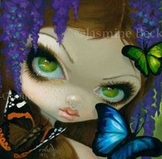 Faces of Faery # 212 by Jasmine Becket-Griffith
